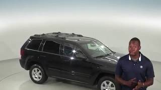A96284CP - Used, 2008, Jeep Grand Cherokee, Laredo, 4WD, Black, Test Drive, Review, For Sale -
