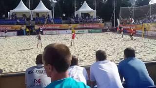 Пляжный футбол в Саратове 2016