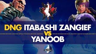 DNG Itabashi Zangief (Abigail) VS  YaNoob (Menat) - Canada Cup 2019 Pools - CPT 2019