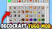Minecraft : Decorcraft TU60 Mod Gameplay (Ps3/Xbox360/PS4
