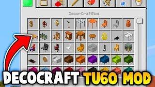 Minecraft : Decorcraft TU60 Mod Gameplay (Ps3/Xbox360/PS4/XboxOne