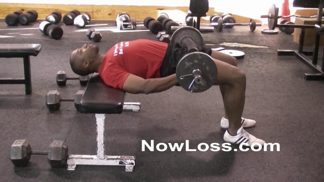 best exercise for a bigger butt = hip thrust - youtube