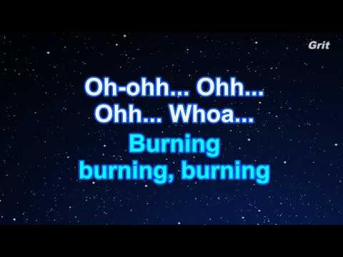 Fire - Jessie J Karaoke【No Guide Melody】
