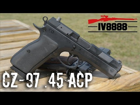 CZ-97  45 ACP - YouTube