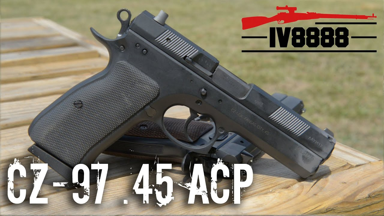 Should You Buy the CZ-97  45 ACP? - Omaha Outdoors