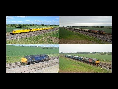 Midlands Motive Power Highlights   June 2017, Part 1 HD