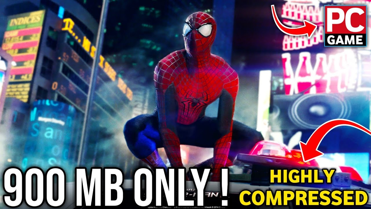 Download How To Download & Install The Amazing Spiderman Highly Compressed For PC | Hindi |