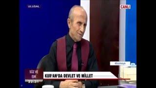 Yaşar Nuri Öztürk - Allah islam dünyasina güvenmiyor.Feo terör cetesi.silivri zindanlari