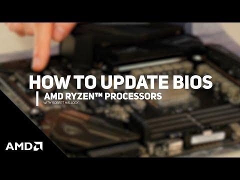 How to Update Motherboard BIOS | AMD