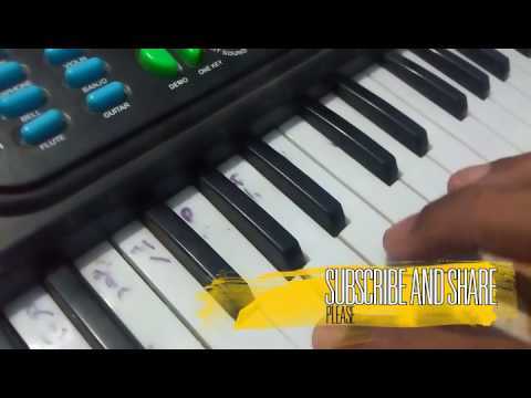 Rongobati odia song piano/casio tutorial ✔✔🇮🇳