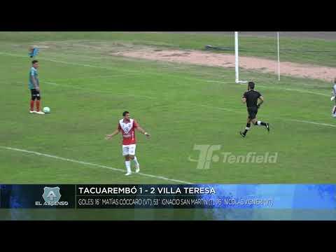 Fecha 3 - Tacuarembo 1:2 Villa Teresa