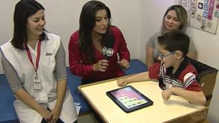 Comunicação alternativa ajuda crianças com paralisia cerebral