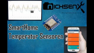 SmartHome Temperatur Sensoren #ESP8266 #ThingsBoard #IoT #Pi3    TEIL 1