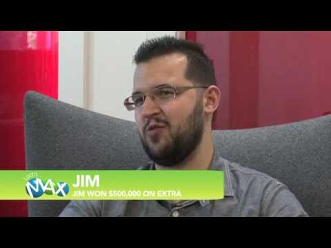 Unbelievable LOTTO MAX Extra win for Jim.