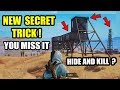 PUBG TOP SECRET PLACE HIDE In OPEN Area's & Kill Enemies | Play Like a Pro Player