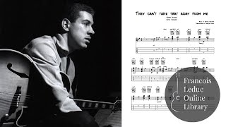 They can t take that away from me (Kenny Burrel) - transcription