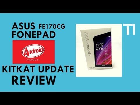 Asus Fonepad 7 (FE170CG) KITKAT 4.4.2 Review