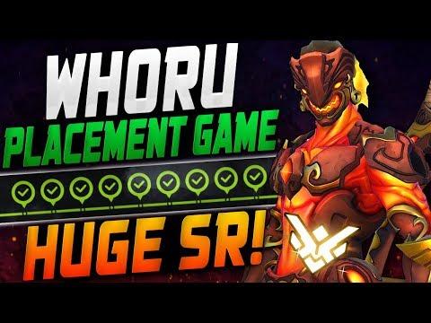 WHORU GENJI GOD - FINAL PLACEMENT GAME! 4*35 SR! [ OVERWATCH SEASON 12 TOP 500 ] thumbnail