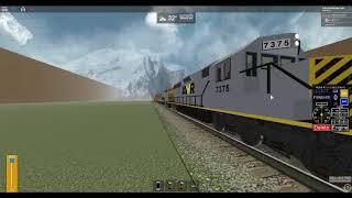 ROBLOX Stoppen des AWVR 777 & 767 Unaufhaltsamer Zug mit 7375 & 7346