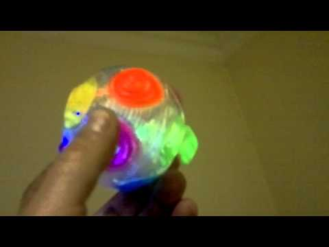 LED leuchtender Crazy