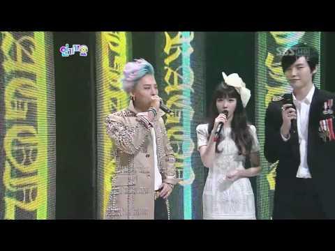 HD 120916 G-DRAGON (Big Bang) - Interview @ SBS Inkigayo