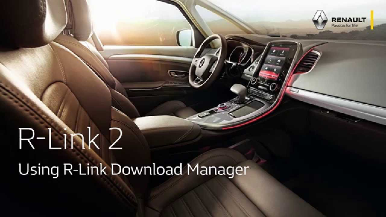 Using R-Link Download Manager