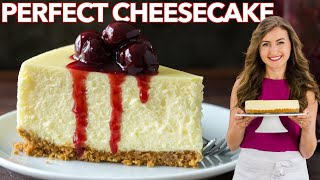 How to make the PERFECT CHEESECAKE with Cherry Sauce