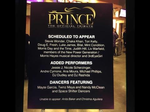Prince Tribute Concert💜Minnesota  2016~Part 1