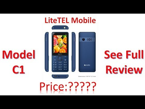 Lite TEL C1 Unboxing and First Look  - The New Mobile 2018🔥