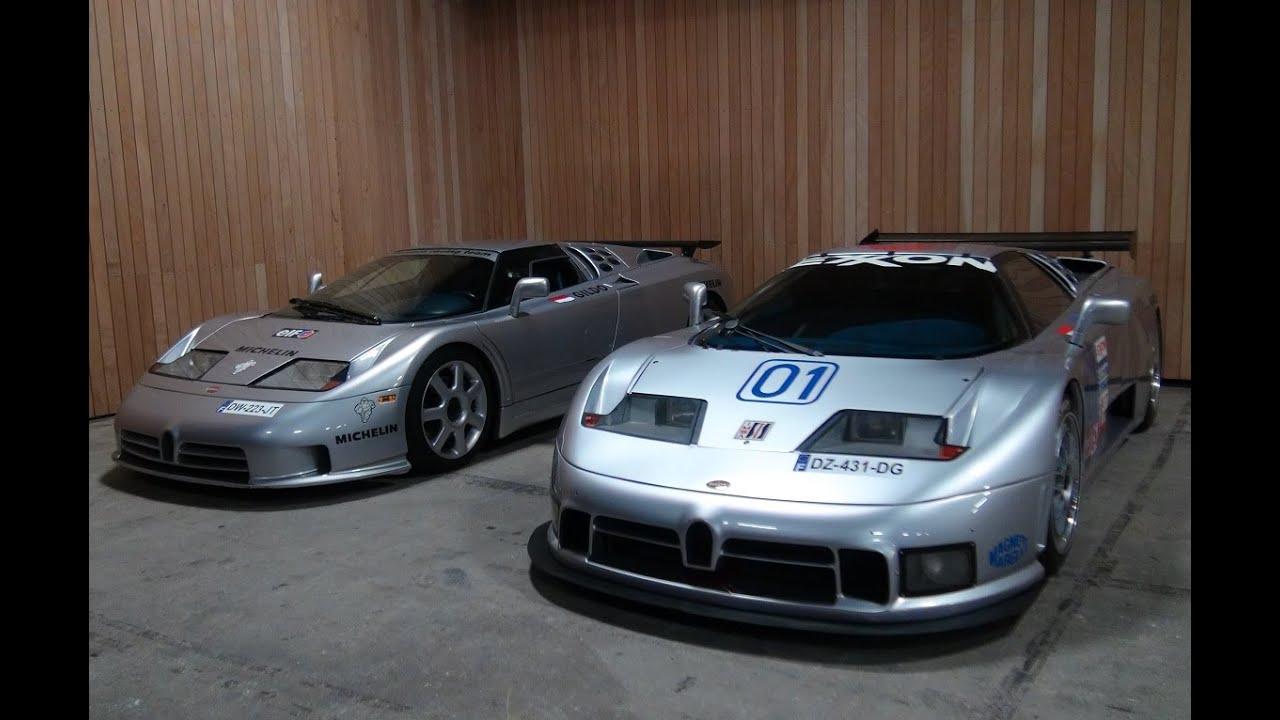 Bugatti Eb110ss Eb110ss Le Mans Lamborghini Miura Youtube