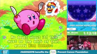 Kirby: Squeak Squad by Mr_Shasta in 48:50 - Awesome Games Done Quick 2016 - Part 7