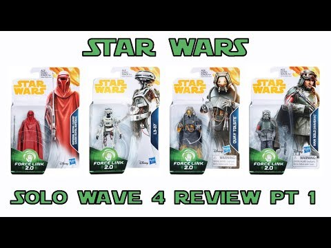 Star Wars Solo 3.75 inch figures wave 4 in hand review Part 1