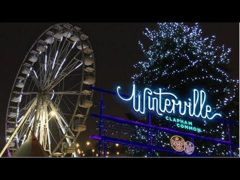 Winterville Clapham Common Vlog November 2018