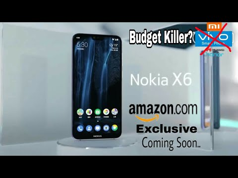 Nokia X6 -  BEST BUDGET KILLER Smartphone?🤔2018 | Release date, Price India??