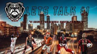 Georgia's Season Falls On This Game & Atlanta United Advances To Eastern Semis + More | Lets Talk #1