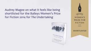 Audrey Magee on being shortlisted for the Baileys Women's Prize 2014