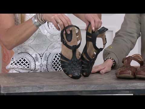 Earth Leather Fisherman Sandals - Teagan On QVC