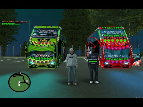 Gta san - รถบัสนำเที่ยวติดเครื่องเสียง 2 บัสสุดหล่อ VIP BUS 2 [Bus Vip Gta san Thailand]page