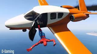 GTA 5 Water ragdolls   SPIDERMAN Jumper Falls Compilation ep 23 Euphoria physics Funny Moments
