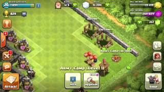 Let's Play Clash of Clans Ep. 15 - Wizard Tower, Spell Factory, and Wizards!!