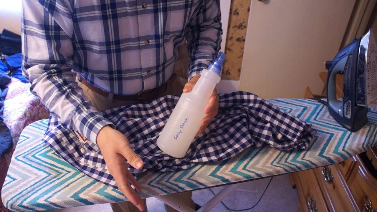 How to Starch Dress at Home