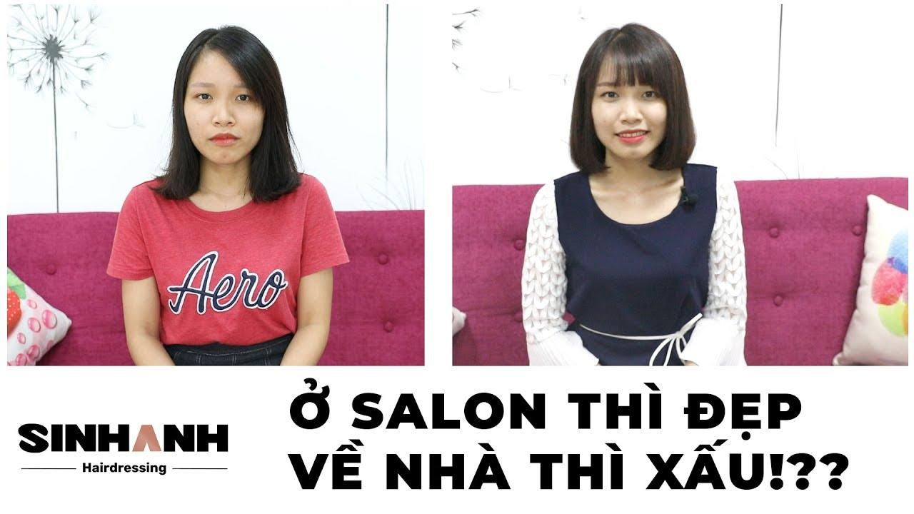 Khắc phục ngay tình trạng ở salon thì tóc đẹp mà về nhà lại xấu với Sinh Anh Hair Salon | Salon và các thông tin mới nhất