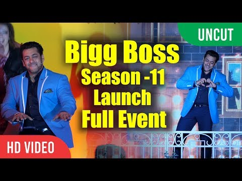 UNCUT - Bigg Boss Season 11 Grand Launch | Salman Khan, Jamie Lever | Full Event