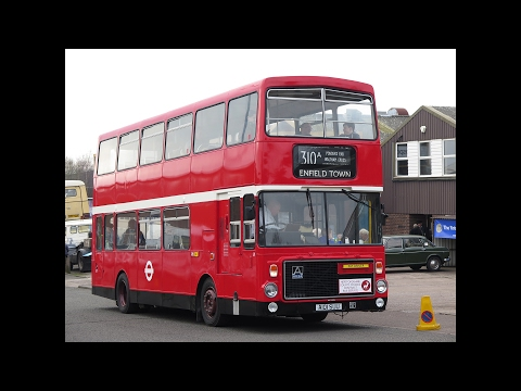 (18/2/2017) London Transport V1 Volvo Ailsa B55 Mk3 (Voith gearbox) A101SUU - AMRTM Buses by Night