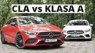 Mercedes CLA i Klasa A Limuzyna - rodzeństwo? To skomplikowane