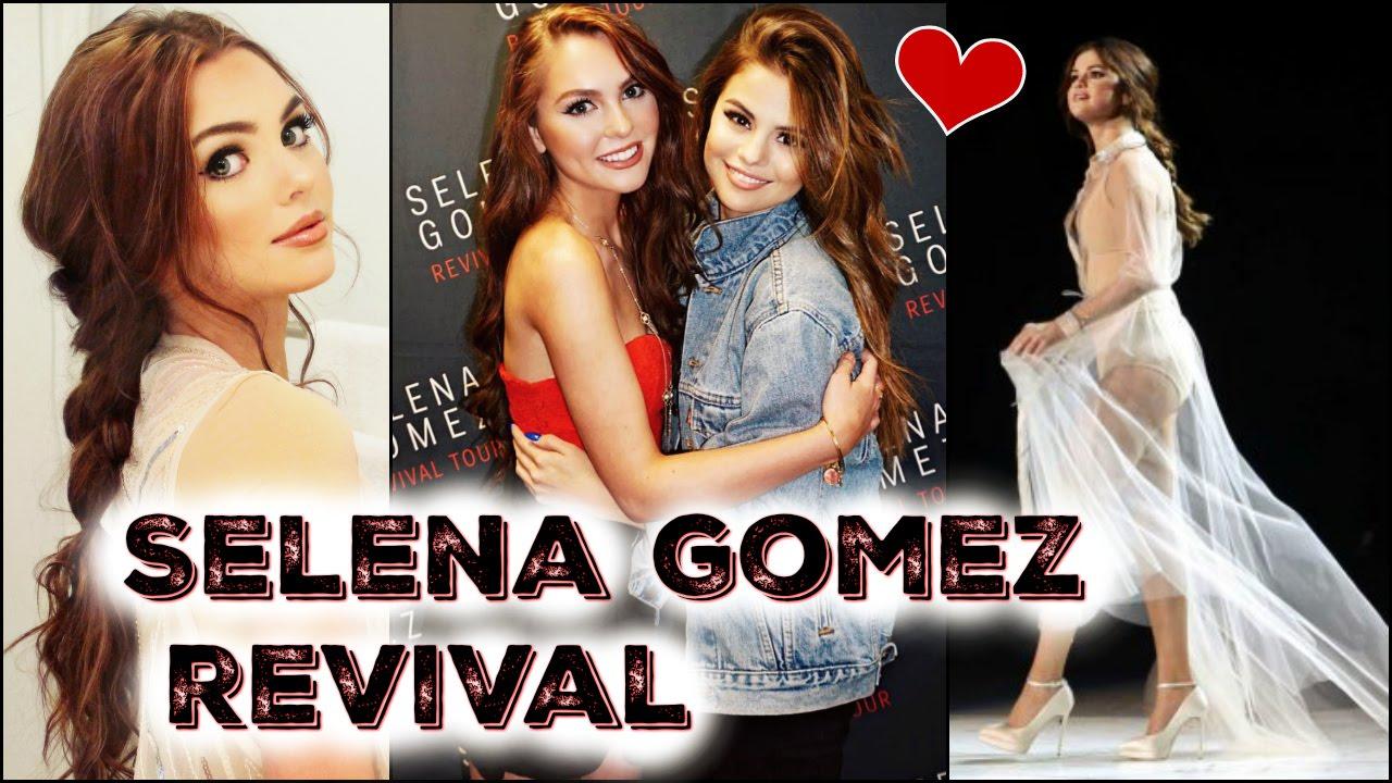 Selena Gomez Revival Tour Tutorial Meeting Selena Youtube