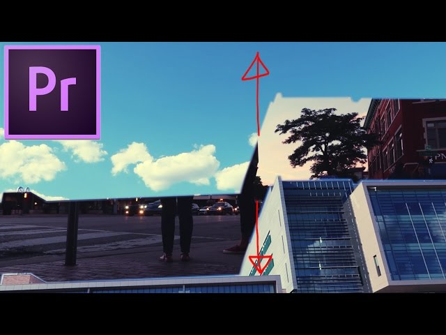 Adobe Premiere Pro CC Tutorial: Mask Transition Cutaway Effect (How to)