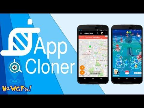 Clonar New GPS Joystick + Google Maps habilitado con App Cloner