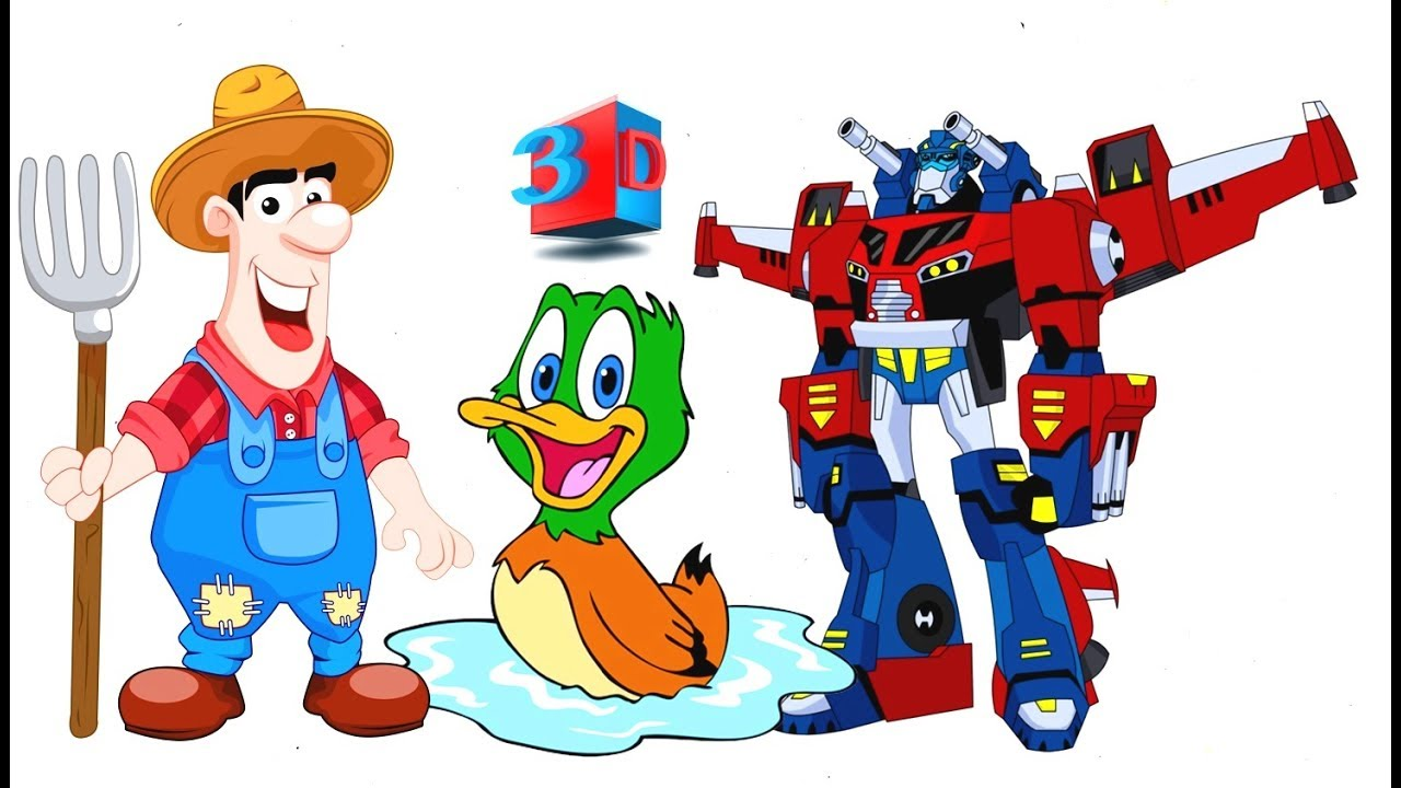 Old Macdonald Had A Farm Five Little Ducks Yankee Doodle Went To Town Popular Rhymes For Kids