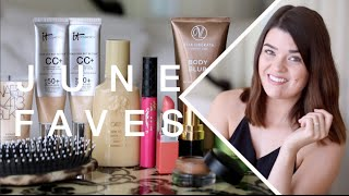 June Favourites | ViviannaDoesMakeup, hairbrush, mascara, lotion, illuminator, beauty, skincare, eye creme